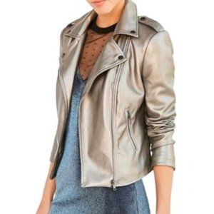 Urban Outfitters Silence & Noise Metallic Jacket 4
